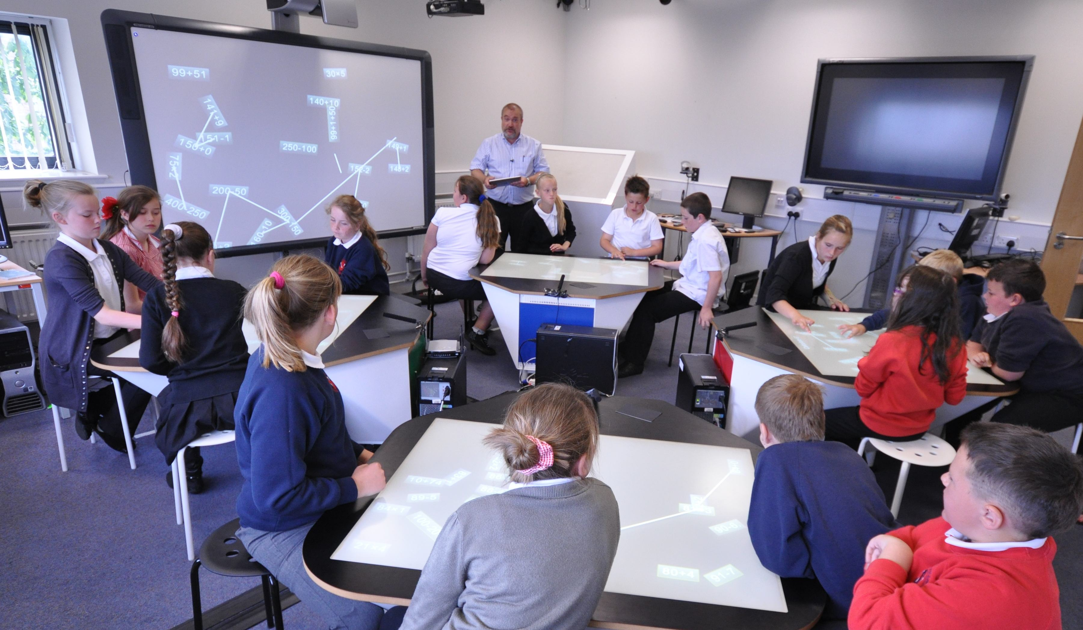 Multitouch Desks